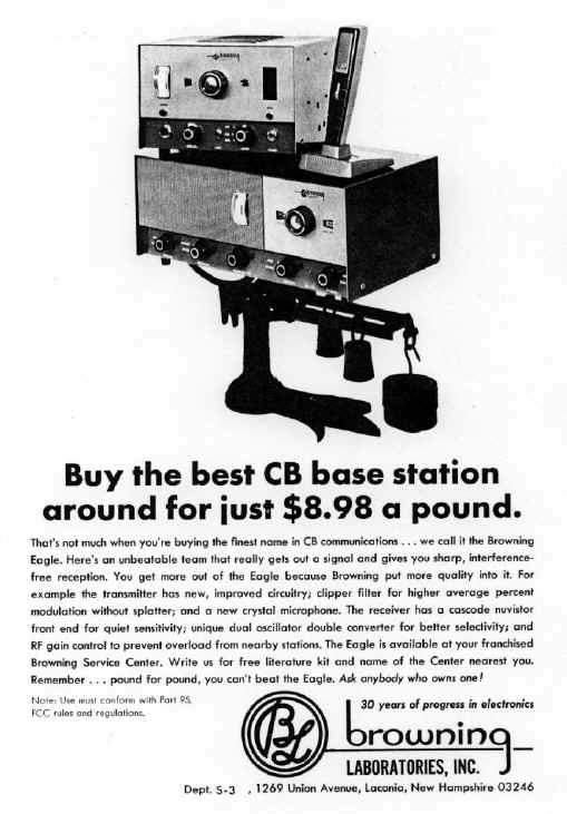 Browning CB Ads